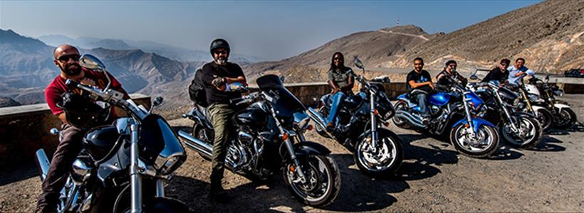 Meeting Big Bike Riders @ Jebel Jais, the highest mountain peak in UAE